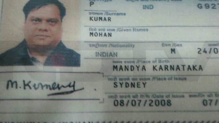 mohan kumar passport