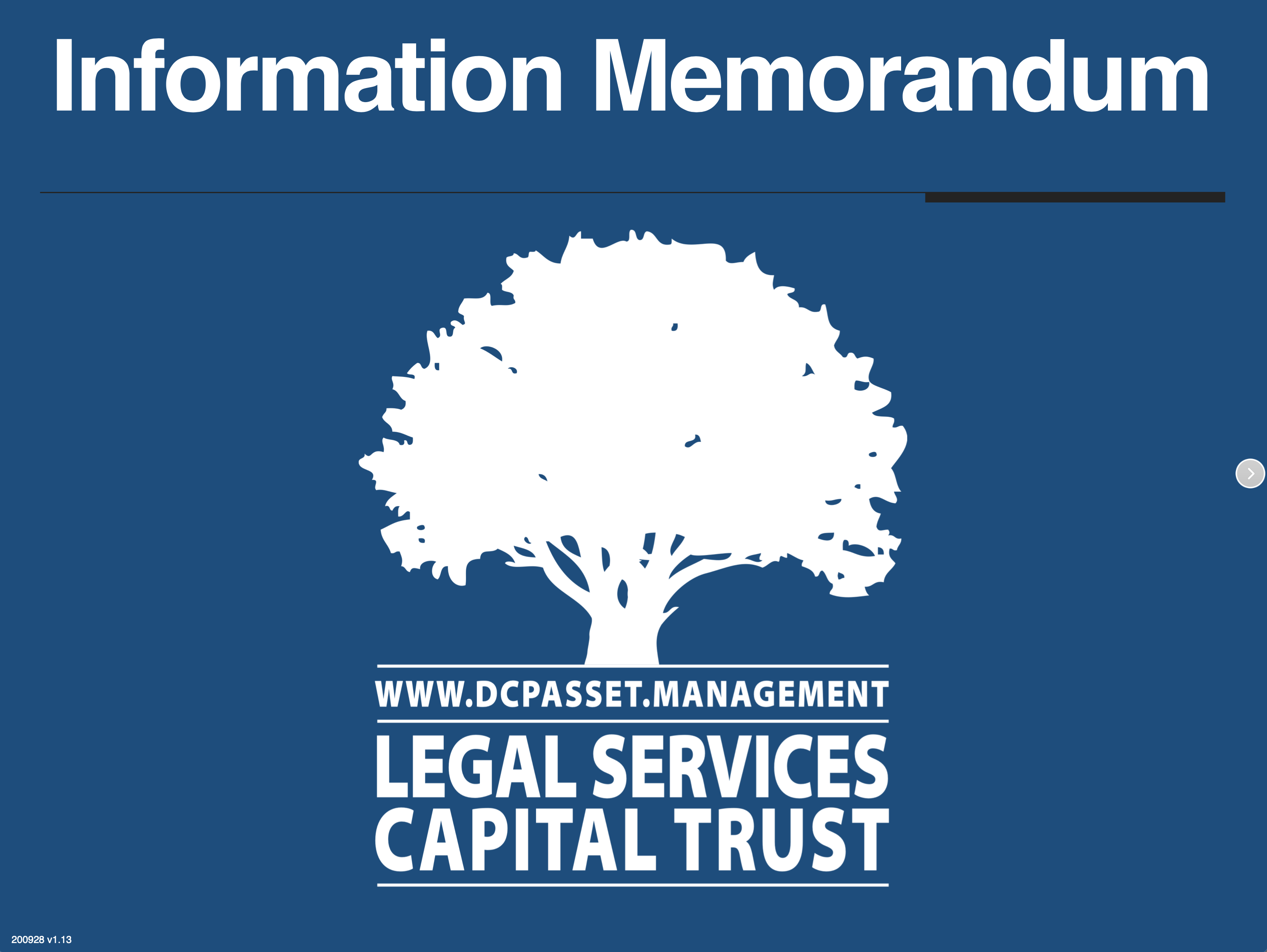 Busifund - Legal Services Capital Trust